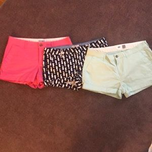 3 piece shorts set!  Beautiful for spring!